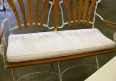 Auflagen Für Gartenbank Versand Plain White Und Für 2 Sitzer