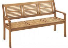 Bauhaus Gartenbank Holz Mit 3 Sitz Werden Von Stärkeren Materialien