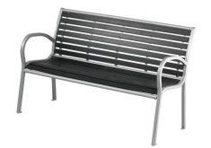 Bauhaus Gartenbank Marina Moderne Modelle Mit Geschwungenen Rückenlehne