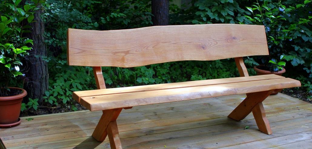 Günstige Gartenbänke Aus Holz Robust Und Stark Mit Den Künstlerischen Modelle