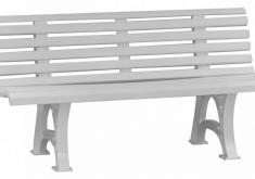 Günstige Gartenbank Kunststoff Gute Modelle Und Elegant, Bequem Zu Sitzen