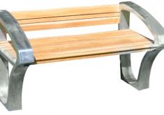 Gartenbänke Günstig Kaufen Eine Kombination Aus Holz Und Eisen Einzigartige Moderne