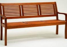 Gartenbank Günstige Angebote Edelholz Materialien Mit Rückenlehne