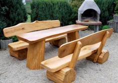 Gartenbank Holz Massiv Antikes Design Und Attraktive, Stark Und Machte Zunehmend Künstlerische Gartengestaltung