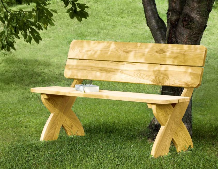 Gartenbank Rustikal Neue Und Geeignet, Um Ihren Schönen Garten Zu Ergänzen