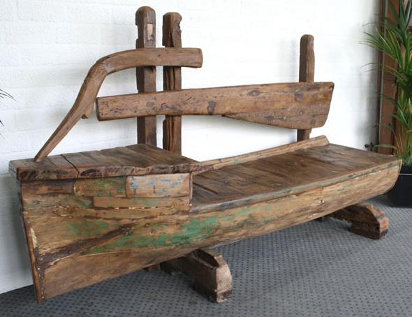 Alte Gartenbank Holz Kaufen Design Motiv Von Miniatur Schiffe Einzigartig Und Attraktiv