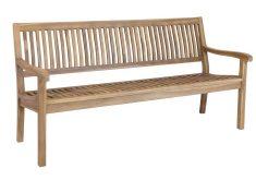 Gartenbank 4 Sitzer Preisvergleich Die Farbe Des Naturholz Mit Armlehnen Und Rückenlehne