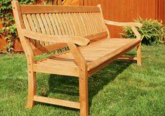 Gartenbank 4 Sitzer Yellow Balau Komfortable Und Robuste Konstruktion Aus Holz