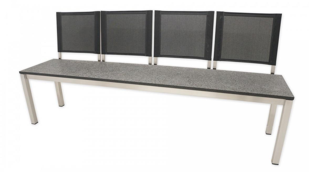 Gartenbank Edelstahl Granit Metall Und Moderne Modelle Guter