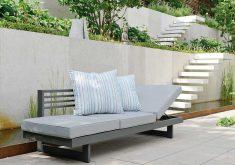 Gartenbank Kissen Shop Stern Gartenbankliege Holly Aluminium Anthrazit Kissen Grau Meliert Ambiente