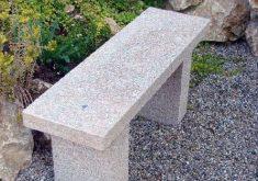 Gartenbank Klein Granit Ohne Rückenlehne Starke Und Robuste Ausführung