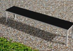 Gartenbank Mit Edelstahl Luxuriösen Und Eleganten Look Für Ihre Modernen Gartengestaltung