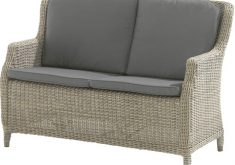 Geflecht Gartenbank Genua 4seasons Brighton 2er Sofa