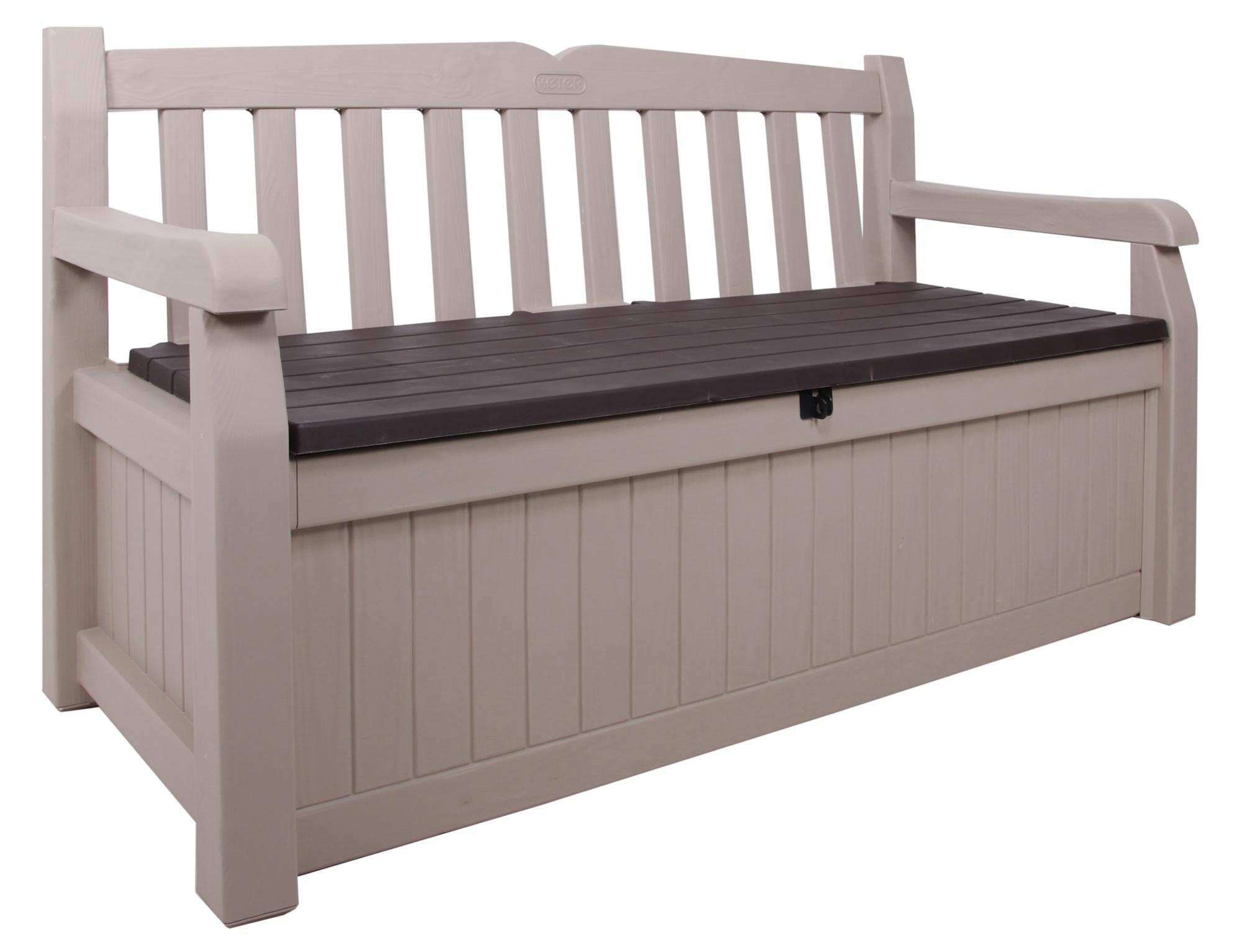 Keter Gartenbank Mit Kissenbox Moderne Und Komfortable Standard Design