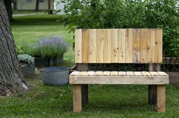 Kleine Gartenbank Selber Bauen Weil Das Design Ist Einfach Und Leichtideen