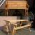 Gartenbank Klappbar Einzigartige Und Attraktive Design, Materialqualität Und Starkes Holz