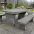 Gartenbank Stein Künstlerische Und Ansprechenden Design Für Den Park Oder Freifläche