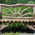 Gartenbank Aus Baumstamm Traditionellen Holz Wie Auf Dem Land