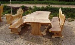 Gartenbank Massiv Baumstamm Einzigartiges Modell Und Waren Beeindruckt Antikes Mit Modernem Stil Kombiniert
