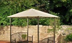 Gartenbank Mit Tisch Und Dach Pavillon